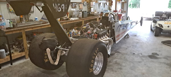 S & W 242 hard tail dragster  for Sale $22,000