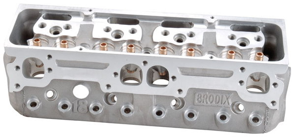 Brodix -18X Series Chevy Cylinder Heads Assembled (2)  for Sale $2,118