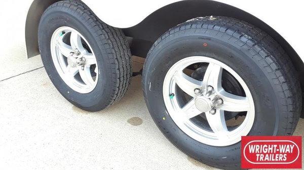 2020 ATC 7x14+6' RAVEN ALUMINUM Snowmobile  for Sale $8,675