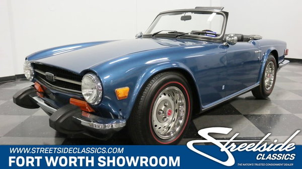 1974 Triumph TR6 for sale in Fort Worth, TX, Price: $26,995