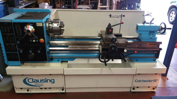 Lathe For Sale >> Clausing Colchester 15 X 50 Lathe For Sale In Mint Hill Nc