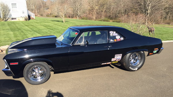 1972 pro street nova 496 BB  for Sale $27,000