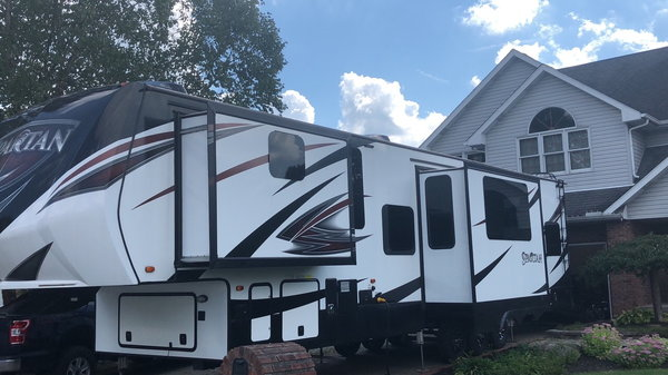 Spartan Toy-Hauler   for Sale $36,000