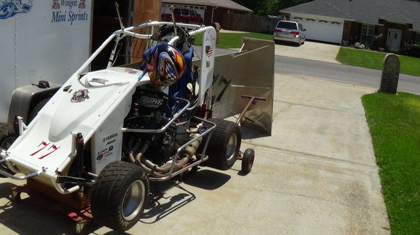 2016 Hyper 600 and trailer  for Sale $15,000