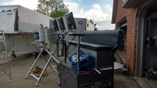 Racing Pit Cart  for Sale $750