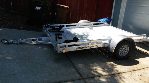 Featherlite Motorcycle trailer for sale   for Sale $2,800