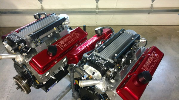 New 485HP Fuel Injected Small Block Marine Engines (2 avail)  for Sale $23,000