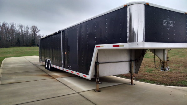 40ft Exiss Aluminum Race Trailer  for Sale $17,900