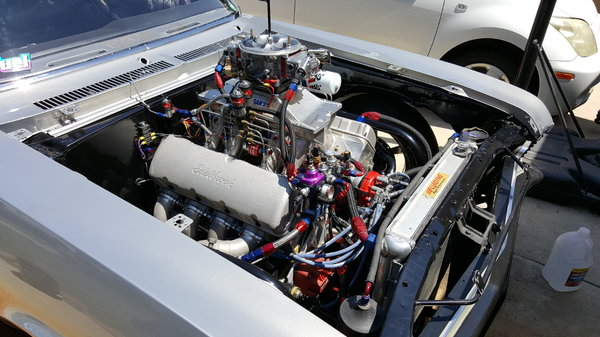 1970 Chevy Nova Back Half Chromoly SFI 25.1E Complete Nitrou