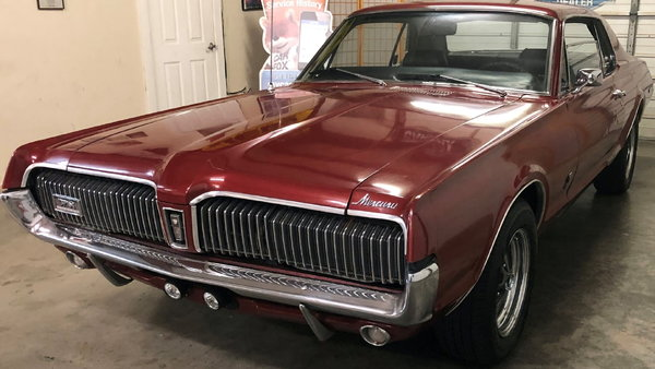 1967 Mercury Cougar  for Sale $19,500