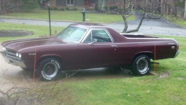 1969 Chevrolet El Camino  for Sale $9,900