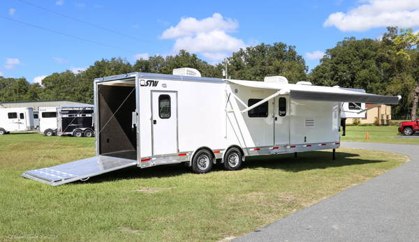 2019 STW Enclosed Toy Hauler With 14' Luxury LQ