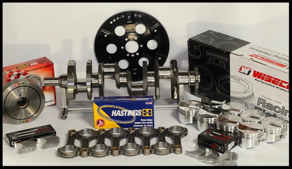 BBC CHEVY 496-505 ENGINE, DART BIG M BLOCK, ENGINE 674HP   for Sale $7,895