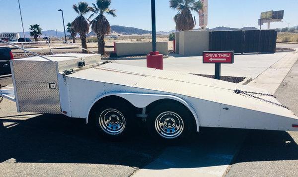 Race car trailer  for Sale $2,925