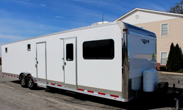 32' Enclosed Trailer w/12' XE Living Quarters