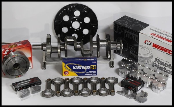"383 ASSEMBLY SCAT CRANK 6"" RODS WISECO +4cc DOME 030 1P  for Sale $1,150"