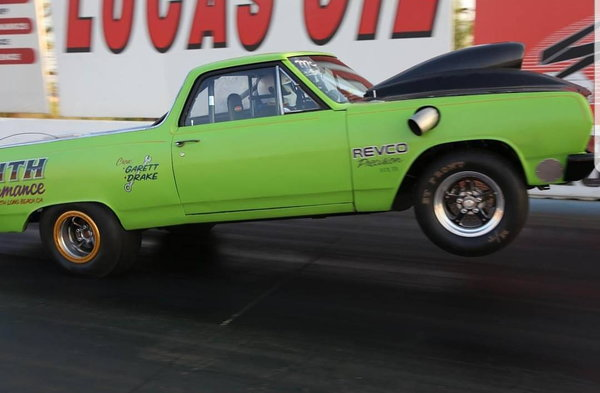 1965 El Camino drag car (Streetcar)  for Sale $10,000