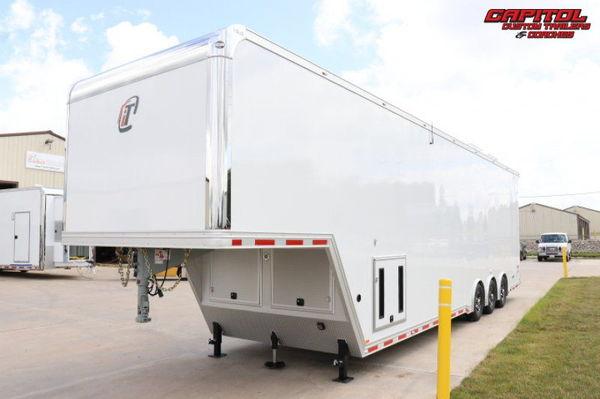 2021 inTech 40' All Aluminum Sprint Car Hauler