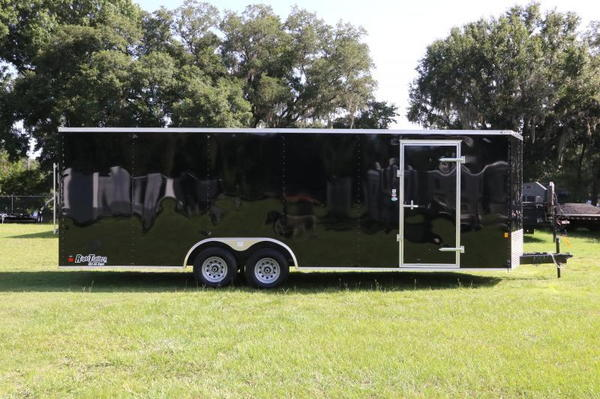 Save $1000 - 8.5x24 Race Trailer w/ Escape Door