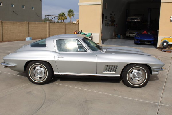 1967 CORVETTE COUPE # MATCH  TOP FLIGHT SELL TRADE  for Sale $75,000