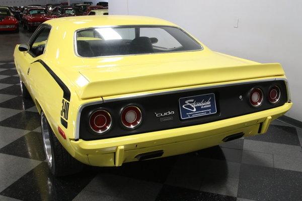 1972 Plymouth Cuda 340 Tribute Restomod  for Sale $49,995