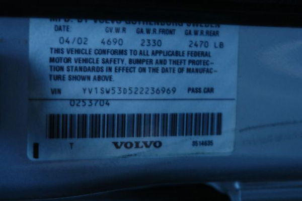 2002 Volvo V70  for Sale $0