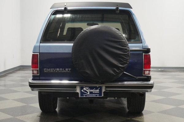 1987 Chevrolet Blazer 4X4  for Sale $14,995