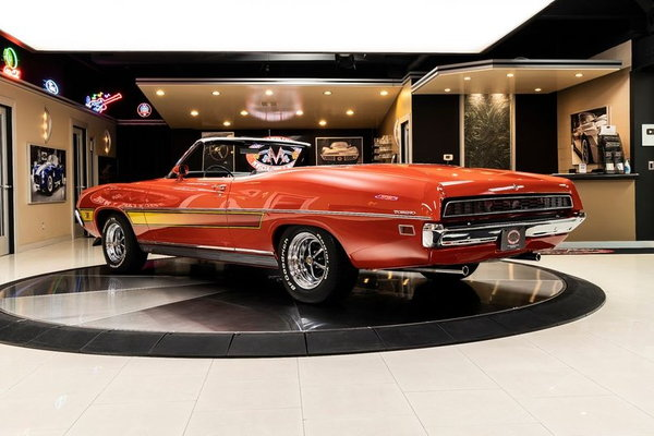 1971 Ford Torino GT Convertible  for Sale $69,900