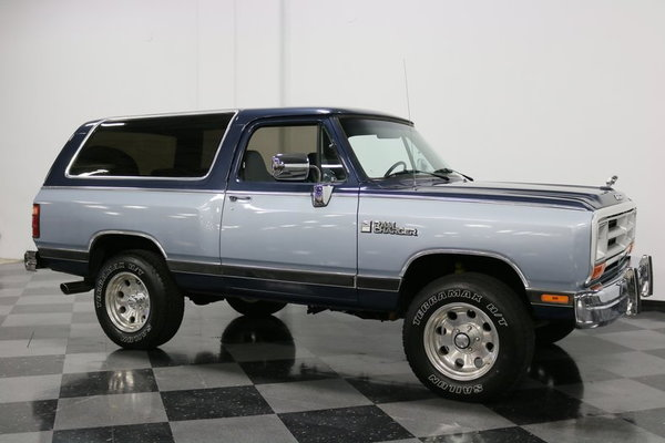 1989 Dodge Ramcharger LE 4X4  for Sale $14,995