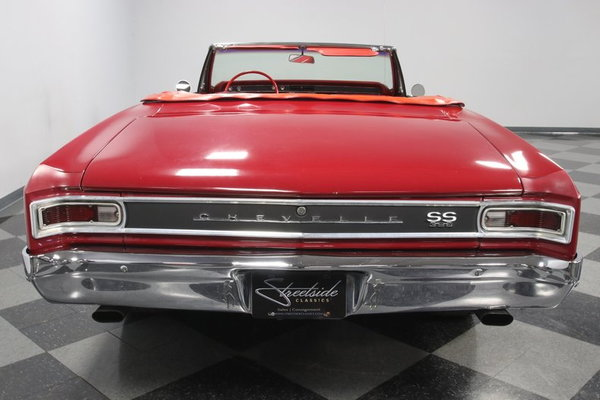 1966 Chevrolet Chevelle SS Convertible  for Sale $43,995
