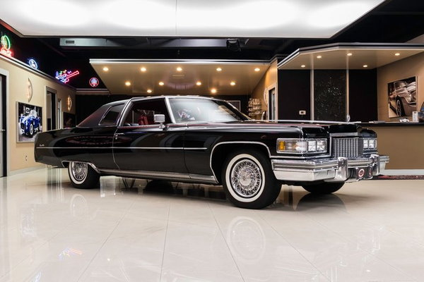 1975 Cadillac Coupe Deville  for Sale $57,900