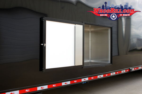 44' Black-Out Auto Master Bathroom Goosenck Trailer Wacobill