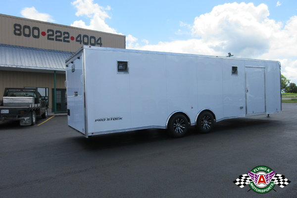 2019 Vintage 28' Pro Stock Race Trailer