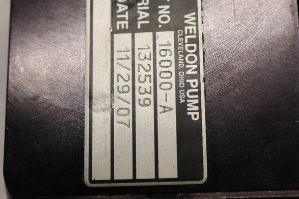 WELDON 16000-A  for Sale $1,100
