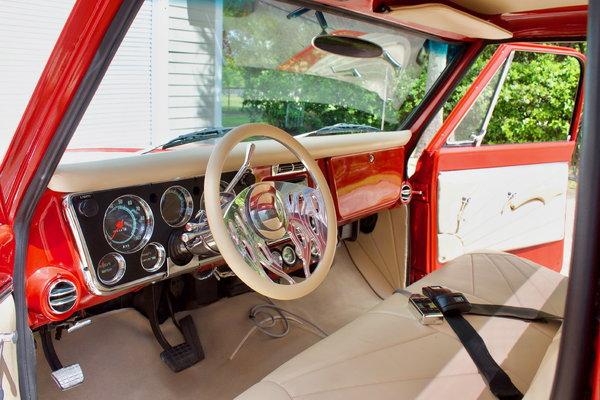 1972 Chevrolet C10 Resto-Mod 454 BBC  for Sale $54,950