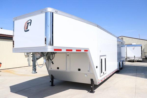 New 2019 40' GN inTech All Aluminum Race Car Trailer