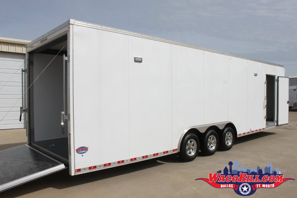 32' UNITED UXT LOADED RACE TRAILER Wacobill.com  for Sale $16,995