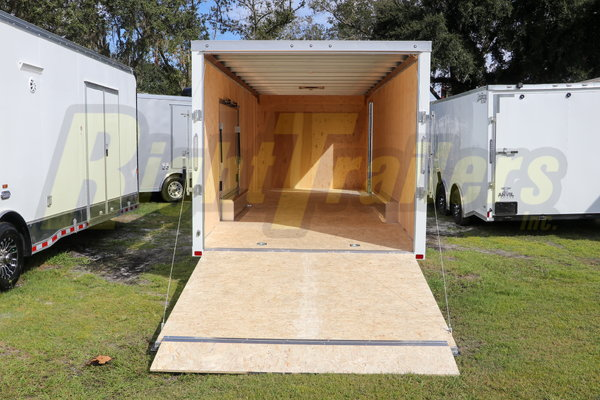 2021 8.5 x 24 ATC Enclosed Race Trailer w/ PED