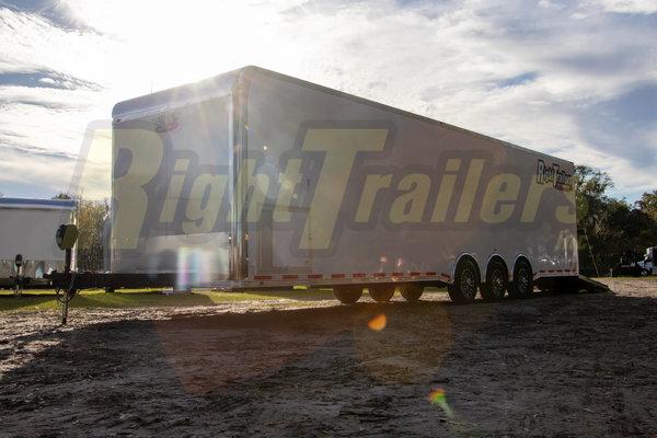2021 8.5 x 34 Vintage Race Trailer