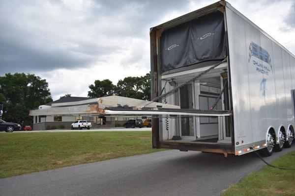 2001 Freighliner FL-70 & 2007 Optima Liftgate Trailer  for Sale $99,900
