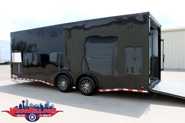 24' Nitro Black-Out Loaded X-Height Trailer Wacobill.com  for Sale $14,995