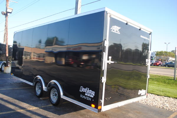 8.5x20 ATC Raven | Enclosed Car Hauler