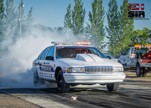 Real  11 SECOND Police Car  for Sale $18,000