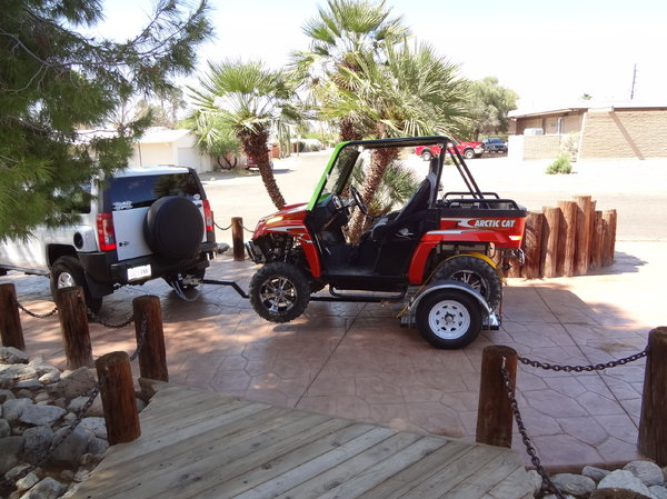 UTV trailer for any side by side with a front receiver   for Sale $800