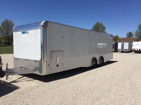 2019 28' Aluminum Race Trailer  for Sale $21,995
