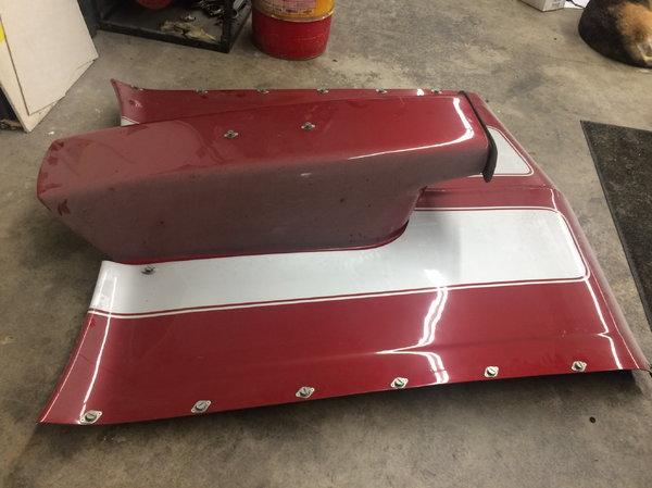 1970 nova hood and scoop  for Sale $200