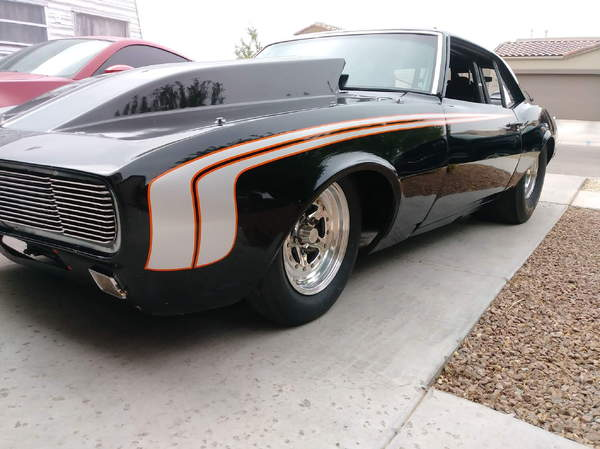 68 Tube Chassis Camaro Race Car For Sale In Las Cruces Nm