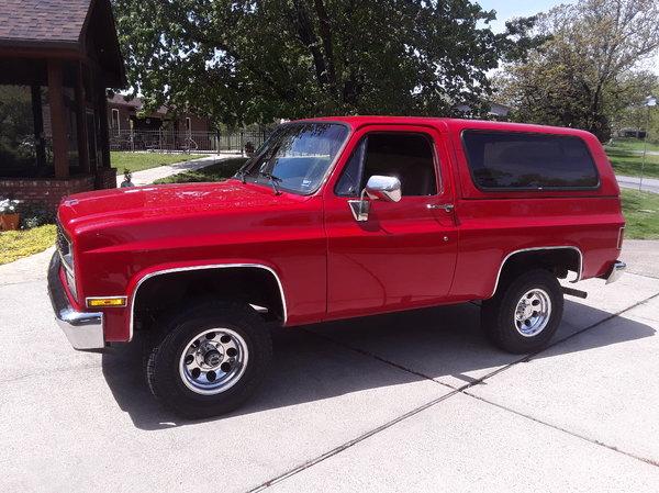 1989 Chevrolet Blazer  for Sale $15,900
