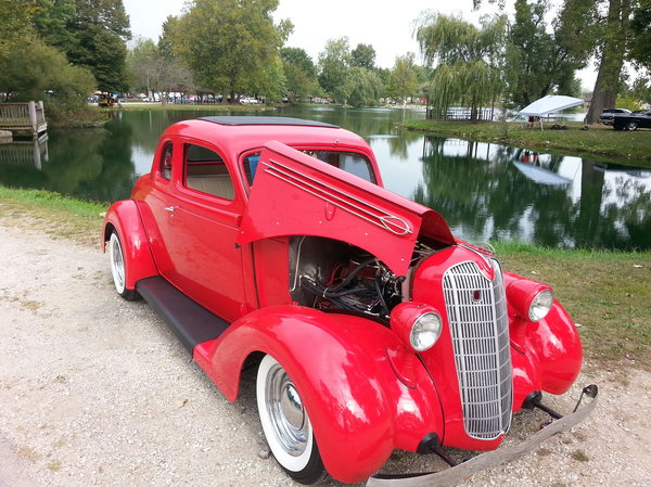 1936 Plymouth Business