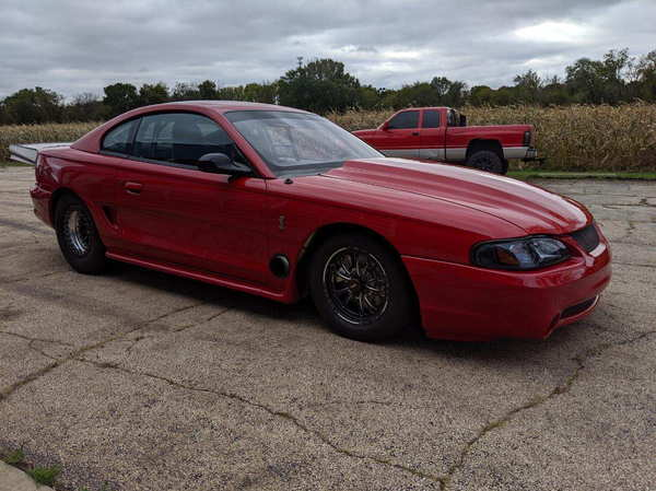 1995 Mustang Cobra 25.5 SBF 98mm Turbo Spotless!  for Sale $45,000